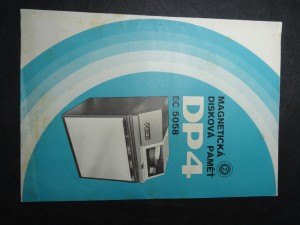 náhled knihy - Magnetická disková paměť DP4, EC 5058