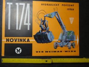 náhled knihy - Hydraulický pojízdný jeřáb T 174 Veb Weimar-Werk