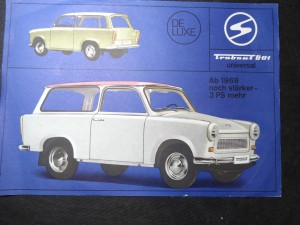 náhled knihy - Trabant 601 universal.