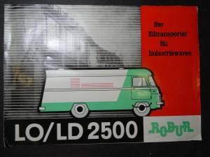 náhled knihy - Der Eiltransporter fur Industriewaren LO/LD 2500