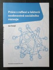 náhled knihy - Práce s reflexí u lektorů osobnostně sociálního rozvoje