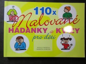 náhled knihy - 110x malované hádanky a kvízy pro děti