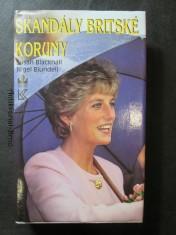 náhled knihy - Skandály britské koruny
