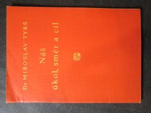 náhled knihy - Náš úkol, směr a cíl