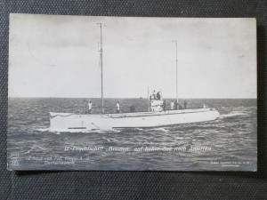 náhled knihy - U. - Frachtschiff Bremen auf hoher. See nach Amerika