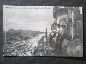 náhled knihy - Erholungsstunde auf einem Unterseeboot wärhend einer Fernfahrt