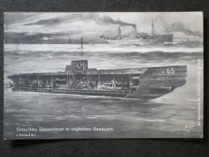 náhled knihy - Getauchtes Unterseeboot in englischen Gewässern