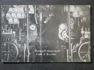 náhled knihy - Ölmaschinenraum eines U. Bootes
