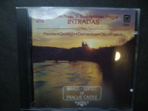 náhled knihy - Festive Music in Rudolphinian Prague Intradas/ Slavnostní hudba rudolfinské Prahy Intrády