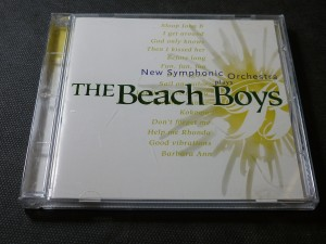 náhled knihy - new symphonic orchestra plays the beach boys