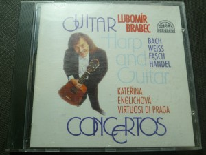 náhled knihy -  Lubomír Brabec - Guitar Harp And Guitar Concertos