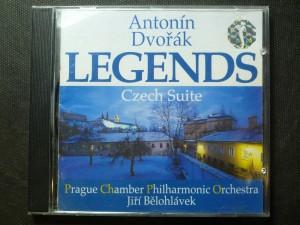 náhled knihy - Legends for Orchestra Op.59, Czech suite Op.39 / PCPO / J.Bělohlávek
