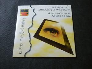 náhled knihy - obrázky z výstavy, Šeherezáda