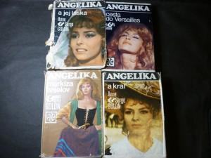 náhled knihy - Angelika markíza anjelov, Angelika a král, Angelika a cesta do Versailles, Angelika a její láska