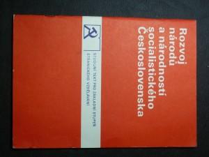 náhled knihy - Rozvoj národů a národností socialistického Československa (Studijní text pro základní stupeň. Strategické vzdělávání)
