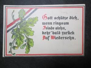 náhled knihy - Gott schütze dich, wenn ringsum Finde stehn, kehrt bald zurück Auf Wiedersehn.