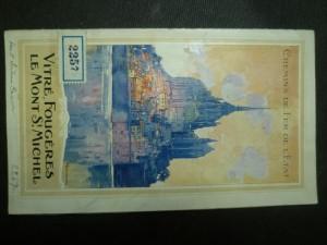 náhled knihy - Vitré, Fougéres Le Mont St. MIchel