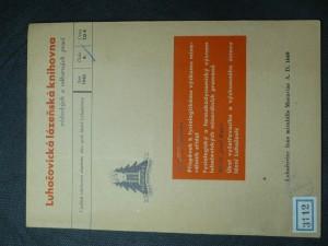 náhled knihy - Luhačovická lázeňská knihovna vědeckých a odborných prací (č. 4)