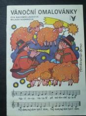 náhled knihy - Vánoční omalovánky