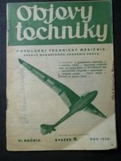 náhled knihy - Objevy techniky - populární technický měsíčník (sv. 6, ročník VI.)