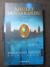 náhled knihy - Bartimaeova trilogie. Kniha první, Amulet Samarkandu