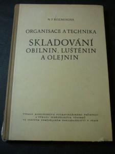 náhled knihy - Organisace a technika skladování obilnin, luštěnin a olejnin