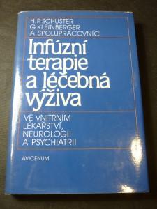 náhled knihy - Infúzní terapie a léčebná výživa ve vnitřním lékařství, neurologii a psychiatrii