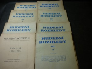 náhled knihy - hudební rozhledy I., II., III., IV., V., VI., VII., VIII., IX.