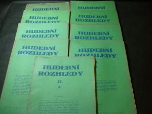 náhled knihy - hudební rozhledy I., II., III., IV., V., VI., VII., VIII., IX., X.