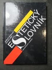 náhled knihy - Estetický slovník