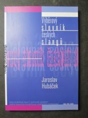náhled knihy - Výběrový slovník českých slangů