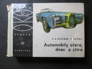 náhled knihy - Automobily včera, dnes a zítra