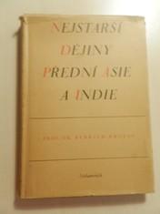 náhled knihy - Nejstarší dějiny Přední Asie a Indie : Alteste Geschichte Vorderasiens und Indiens
