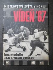 náhled knihy - Mistrovství světa v hokeji Vídeň 67