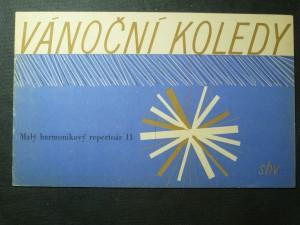 náhled knihy - Vánoční koledy - malý harmonikový repertoár 11