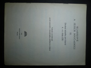 náhled knihy - Klasikové a jejich současníci II. Drobné skladby pro klavír 4. - 6. třída LŠU