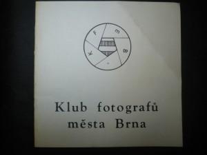 náhled knihy - XV. členská výstava Klubu fotografů města Brna