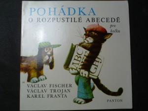 náhled knihy - Pohádka o rozpustilé Abecedě pro kočku