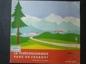 náhled knihy - La Tschechoslovaquie parc de l´Europe