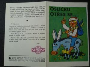 náhled knihy - Oslíčku otřes se...