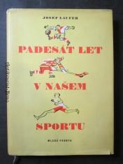 náhled knihy - Padesát let v našem sportu