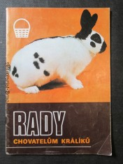 náhled knihy - Rady chovatelům králíků