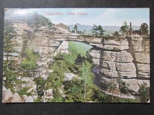 náhled knihy - Prebischtor. Böhm. Schweiz / Pravčická brána (Prebischtor) - České Švýcarsko /
