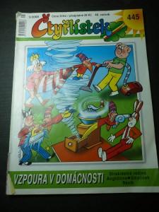 náhled knihy - čtyřlístek 40. ročník č. 5/2008