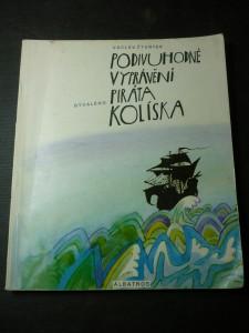 náhled knihy - Podivuhodné vyprávění bývalého piráta Kolíska
