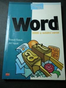 náhled knihy - Microsoft Word 2000 a ostatní verze