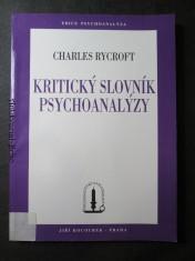 náhled knihy - Kritický slovník psychoanalýzy