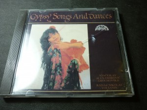 náhled knihy - gypsy songs and dances