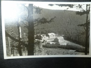 náhled knihy - Jeseníky - Laušmanova chata na Červenohorském sedle