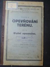 náhled knihy - Opevňování terénu díl II. Polní opevnění